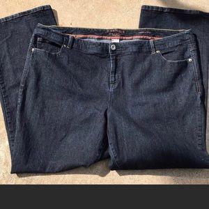 NWOT Sonoma Boot dark denim jeans